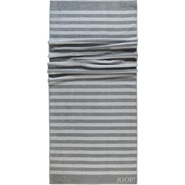 JOOP! Classic - Stripes 1610 - Farbe: Silber - 76 Saunatuch 80x200 cm