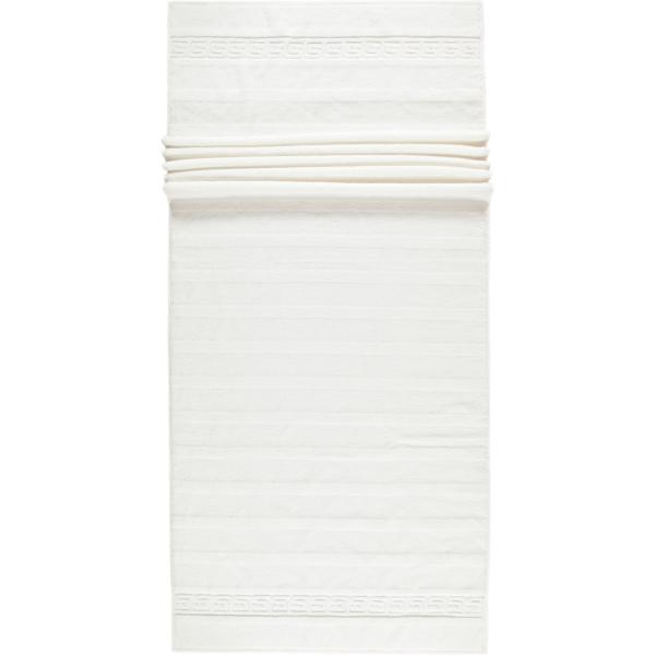 Cawö - Noblesse Uni 1001 - Farbe: 600 - weiß Saunatuch 80x200 cm