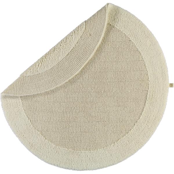 Rhomtuft - Badteppiche Exquisit - Farbe: natur-jasmin - 20 100 cm rund