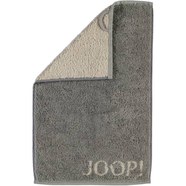 JOOP! Classic - Doubleface 1600 - Farbe: Graphit - 70 Gästetuch 30x50 cm