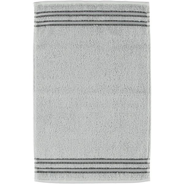 Vossen Cult de Luxe - Farbe: 721 - light grey Gästetuch 30x50 cm