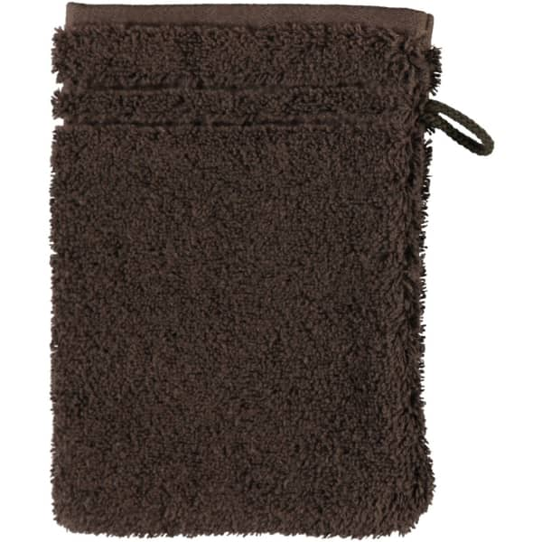 Vossen Vienna Style Supersoft - Farbe: dark brown - 693 Waschhandschuh 16x22 cm