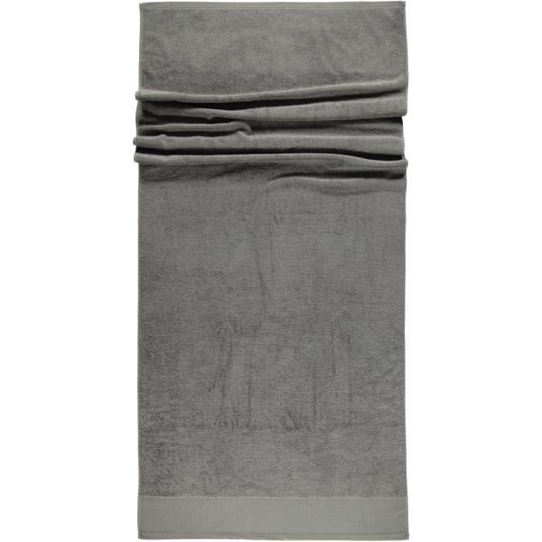 Rhomtuft - Handtücher Comtesse - Farbe: kiesel - 85 Saunatuch 80x200 cm