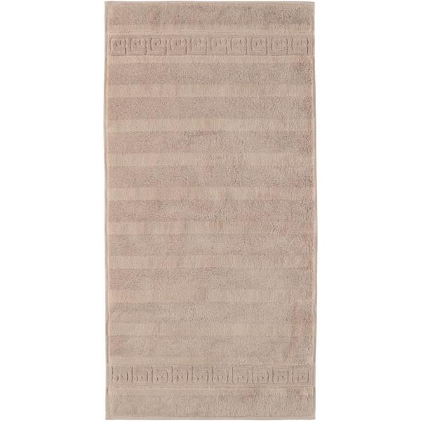 Cawö - Noblesse Uni 1001 - Farbe: 375 - sand Handtuch 50x100 cm