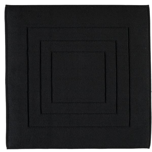 Vossen Badematte Calypso Feeling - Farbe: schwarz - 790 60x60 cm