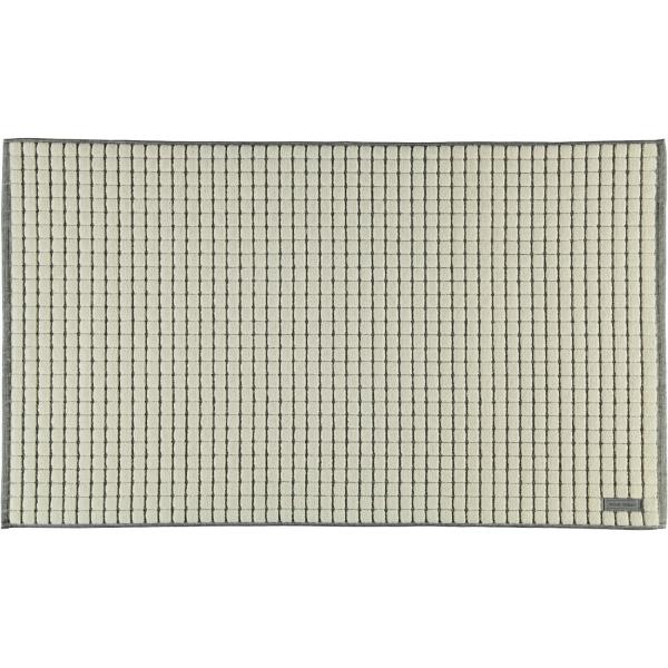 Möve - Eden - Badteppich Kästchenstruktur - Größe: 60x100 cm - Farbe: natur - 869 (1-0347/8127)