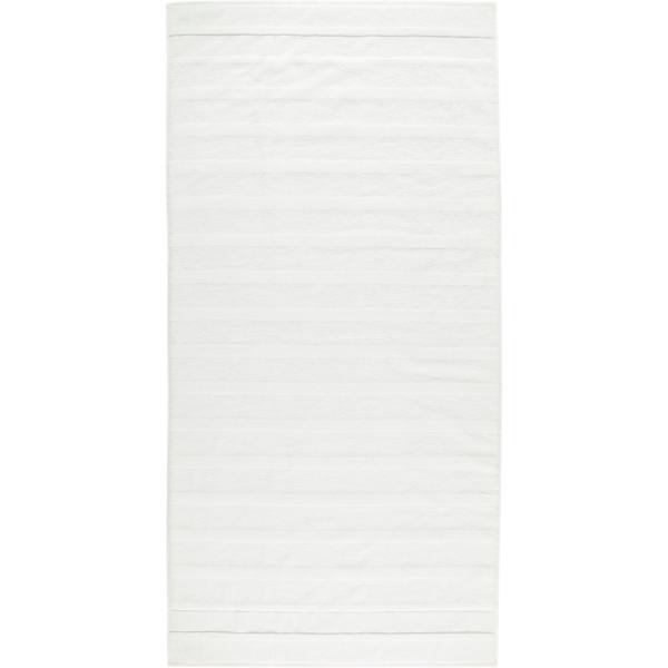 Cawö - Noblesse2 1002 - Farbe: 600 - weiß Duschtuch 80x160 cm
