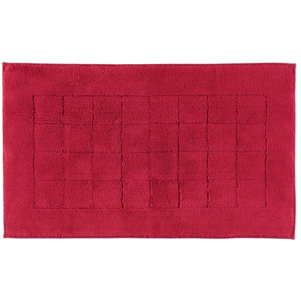Vossen Badteppich Exclusive - Farbe: rubin - 390 60x100 cm