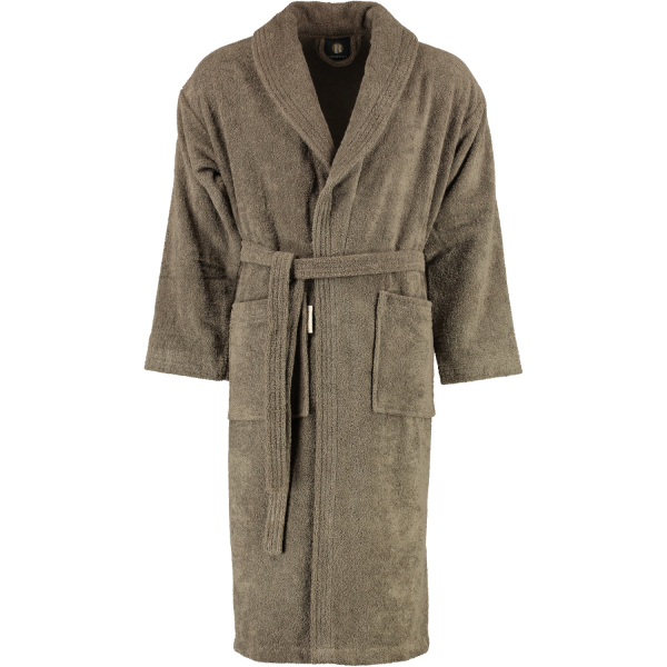 Rhomtuft - Bademantel Sir & Lady - Unisex - Farbe: taupe - 58