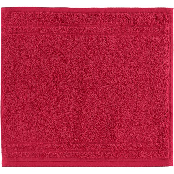 Vossen Vienna Style Supersoft - Farbe: rubin - 390 Seiflappen 30x30 cm