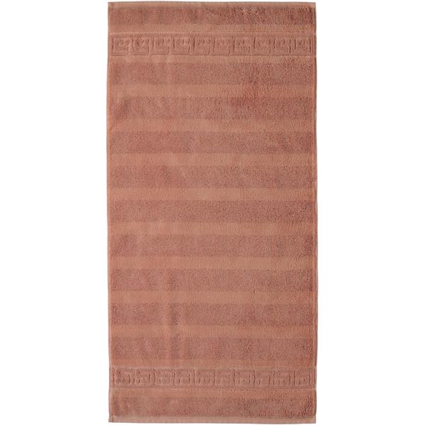 Cawö - Noblesse Uni 1001 - Farbe: 369 - zimt Handtuch 50x100 cm