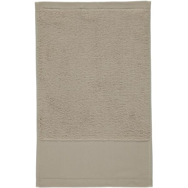 Rhomtuft - Handtücher Comtesse - Farbe: stone - 320 Gästetuch 30x50 cm