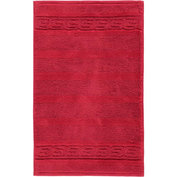 Cawö - Noblesse Uni 1001 - Farbe: 280 - bordeaux Gästetuch 30x50 cm