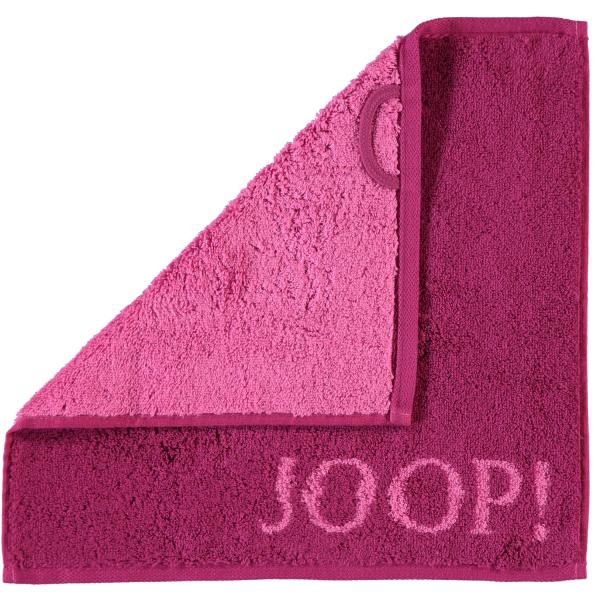 JOOP! Classic - Doubleface 1600 - Farbe: Cassis - 22 Seiflappen 30x30 cm
