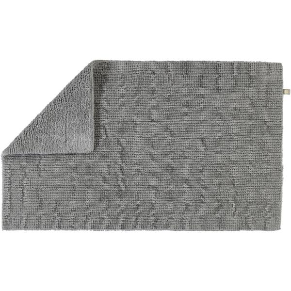 Rhomtuft - Badteppich Pur - Farbe: kiesel - 85 70x130 cm