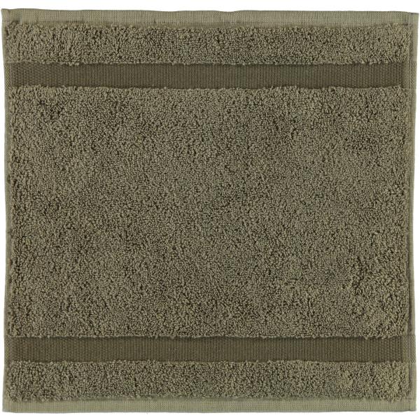 Rhomtuft - Handtücher Princess - Farbe: taupe - 58 Seiflappen 30x30 cm