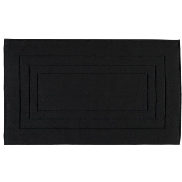 Vossen Badematte Calypso Feeling - Farbe: schwarz - 790 67x120 cm