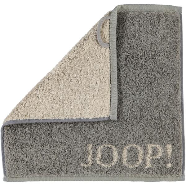JOOP! Classic - Doubleface 1600 - Farbe: Graphit - 70 Seiflappen 30x30 cm