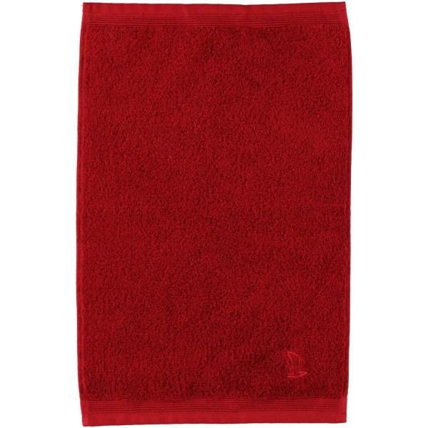 Möve - Superwuschel - Farbe: rubin - 075 (0-1725/8775) Gästetuch 30x50 cm