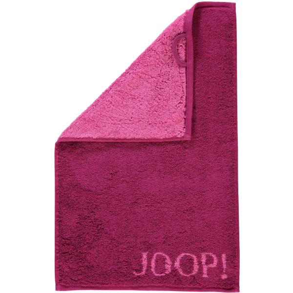 JOOP! Classic - Doubleface 1600 - Farbe: Cassis - 22 Gästetuch 30x50 cm