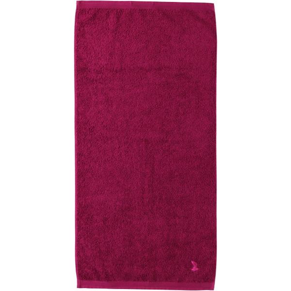 Möve - Superwuschel - Farbe: berry - 266 (0-1725/8775) Handtuch 60x110 cm