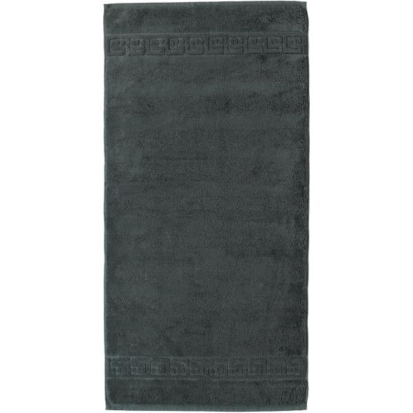 Cawö - Noblesse Uni 1001 - Farbe: 774 - anthrazit Handtuch 50x100 cm