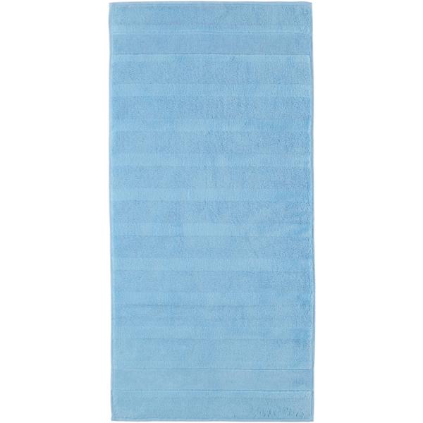 Cawö - Noblesse2 1002 - Farbe: 188 - mittelblau Handtuch 50x100 cm