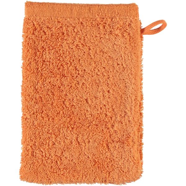 Cawö - Life Style Uni 7007 - Farbe: mandarine - 316 Waschhandschuh 16x22 cm
