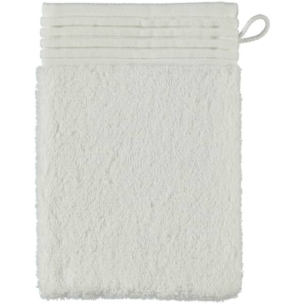 Möve - LOFT - Farbe: snow - 001 (0-5420/8708) Waschhandschuh 15x20 cm