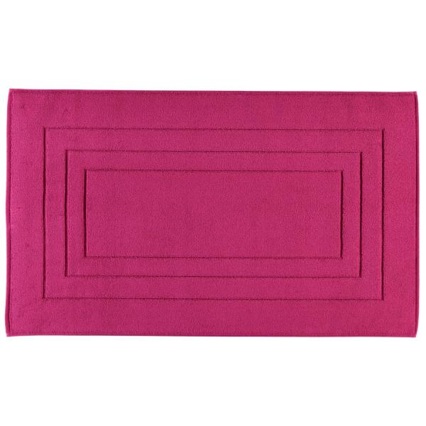 Vossen Badematte Calypso Feeling - Farbe: 377 - cranberry 60x100 cm