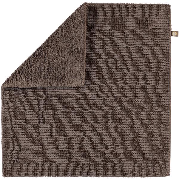Rhomtuft - Badteppich Pur - Farbe: taupe - 58 60x60 cm