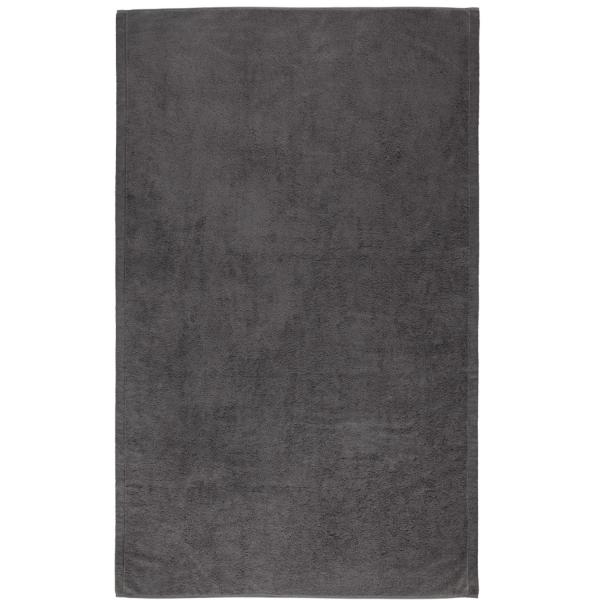 Cawö - Life Style Uni 7007 - Farbe: anthrazit - 774 Badetuch 100x160 cm
