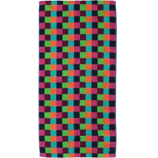 Cawö - Life Style Karo 7047 - Farbe: 84 - multicolor Handtuch 50x100 cm