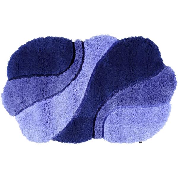 Rhomtuft - Badteppich Ambiente - Farbe: polarblau/ultramarin/royal - 1310
