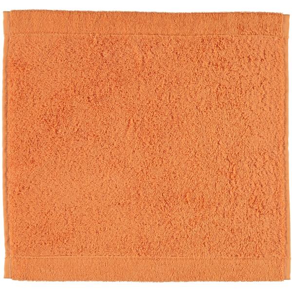 Cawö - Life Style Uni 7007 - Farbe: mandarine - 316 Seiflappen 30x30 cm