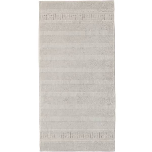 Cawö - Noblesse Uni 1001 - Farbe: 775 - silber Handtuch 60x110 cm