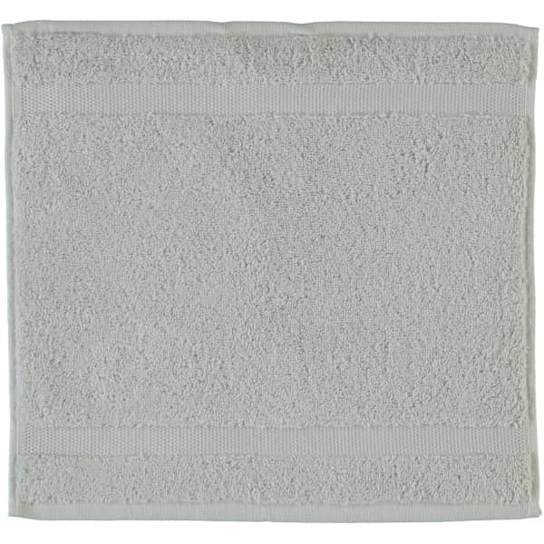 Rhomtuft - Handtücher Princess - Farbe: perlgrau - 11 Seiflappen 30x30 cm