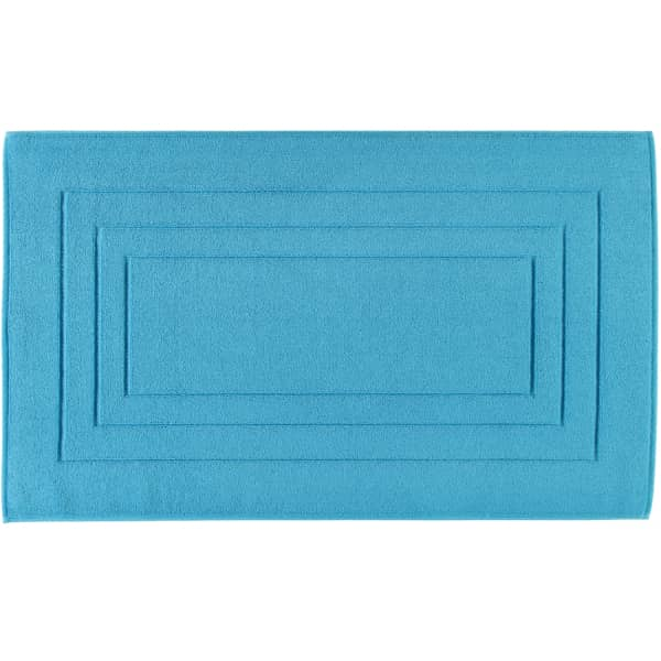 Vossen Badematte Calypso Feeling - Farbe: turquoise - 557 67x120 cm