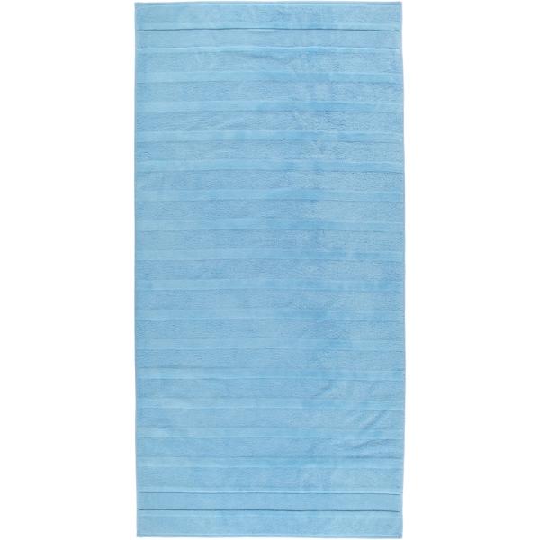 Cawö - Noblesse2 1002 - Farbe: 188 - mittelblau Duschtuch 80x160 cm