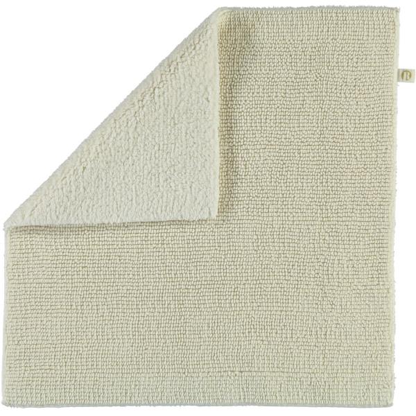 Rhomtuft - Badteppich Pur - Farbe: ecru - 260 60x60 cm