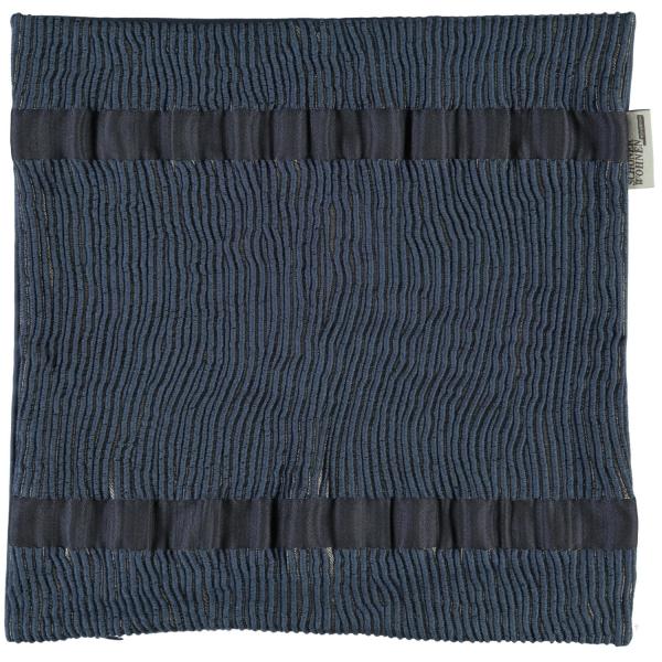 Schöner Wohnen Kissenhülle Smooth - Farbe: 080 - marine (21157) 38x38 cm