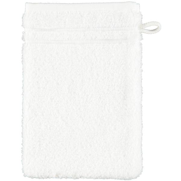 Vossen Vienna Style Supersoft - Farbe: weiß - 030 Waschhandschuh 16x22 cm