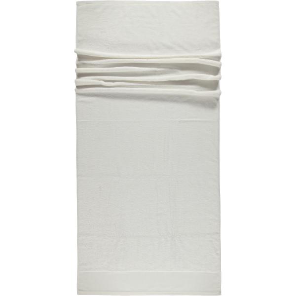 Rhomtuft - Handtücher Comtesse - Farbe: weiss - 01 Saunatuch 80x200 cm