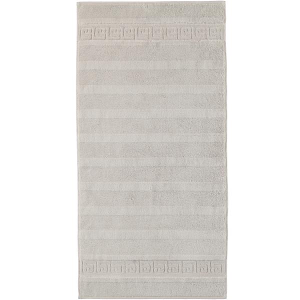 Cawö - Noblesse Uni 1001 - Farbe: 775 - silber Handtuch 50x100 cm