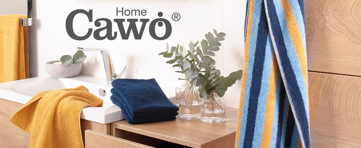 Cawö - Damen Bademantel Life Style - Kurzmantel mit Kapuze 7082 - Farbe: multicolor - 25 S Herstellerbild