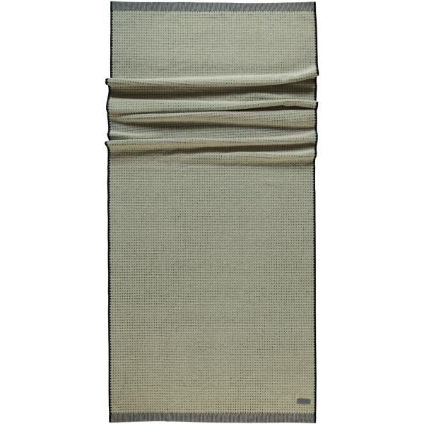 Möve - Eden - Piquée Struktur - Farbe: natur - 081 (1-0148/8942) Saunatuch 80x200 cm