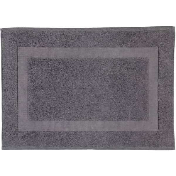 Rhomtuft - Badteppiche Comtesse - Farbe: zinn - 02 50x70 cm