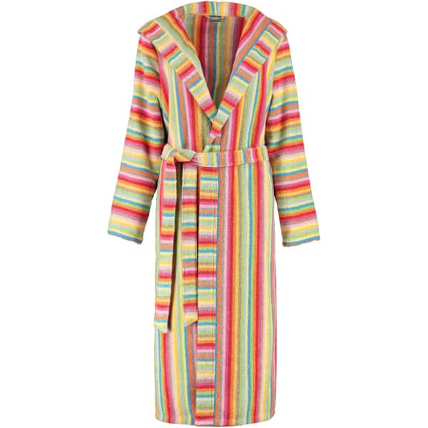 Cawö - Damen Bademantel Life Style - Kapuze 7081 - Farbe: multicolor - 25