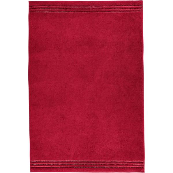 Vossen Cult de Luxe - Farbe: 390 - rubin Badetuch 100x150 cm