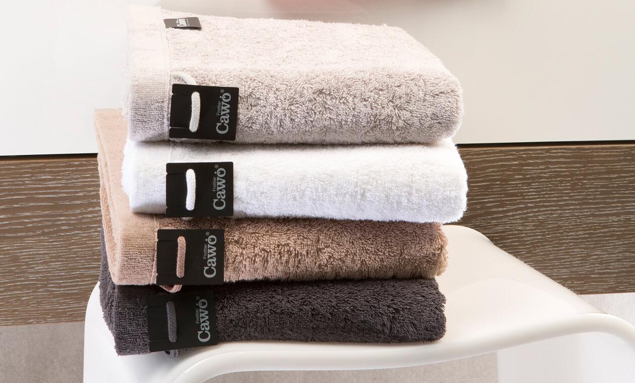 Cawö - Life Style Uni 7007 - Farbe: weiß - 600 Waschhandschuh 16x22 cm Detailbild 1